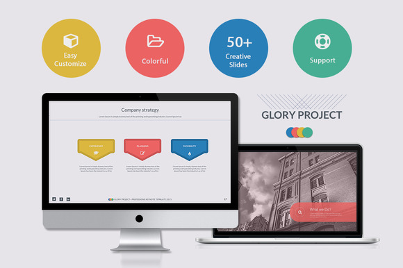 Glory Project Powerpoint Template