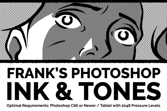 Photoshop Ink Tones