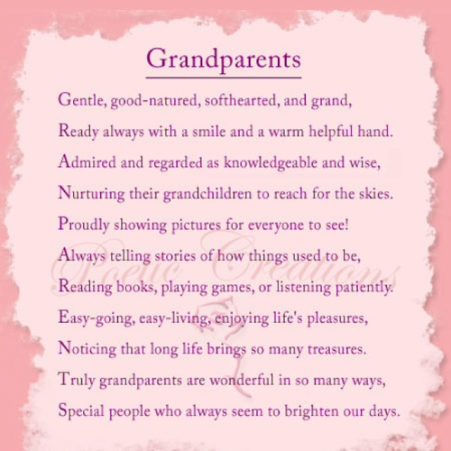 descriptive essay about grandparents