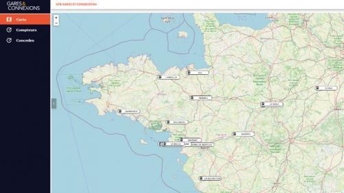 surveillance et pilotage de gares a travers tout le pays