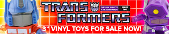 Transformers The Loyal Subjects vinyl toys series 2