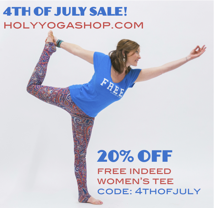 july 4th yoga