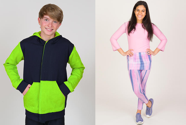 young adult clothing models