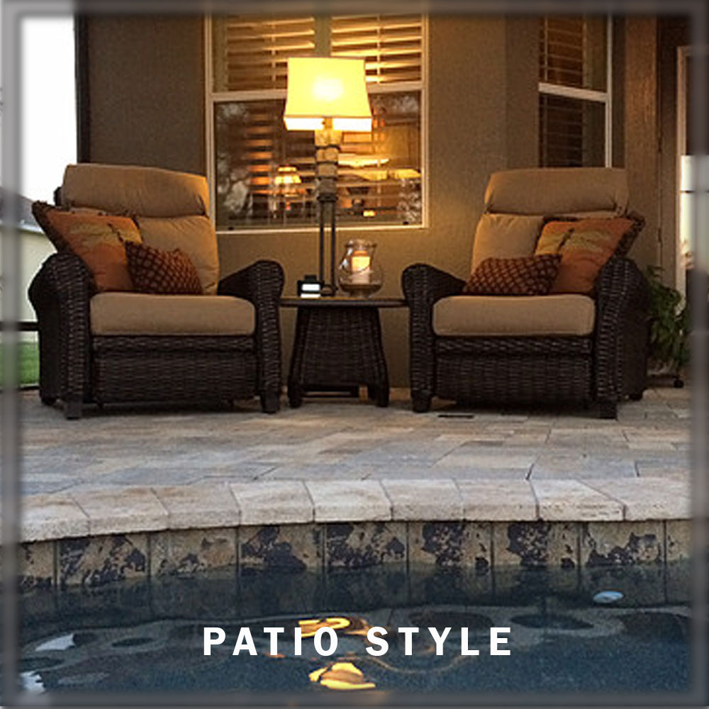 Here is a look at some of the patios we ve furnished Stop by Today for y