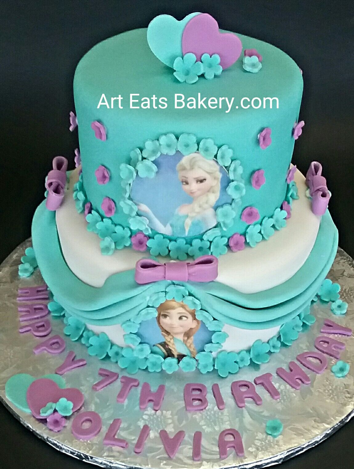 World Wide Wedding and Birthday cakes Unique creative girls Frozen