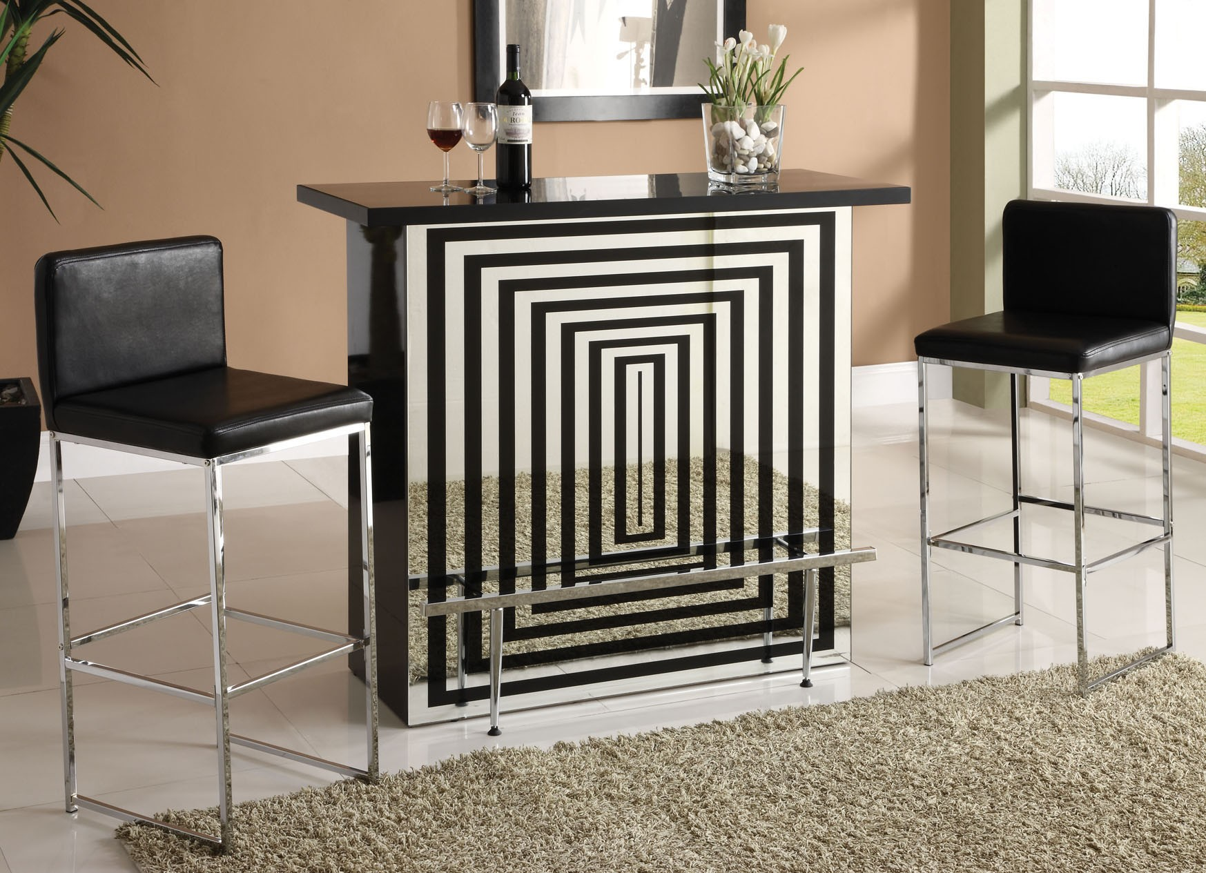 Acme Furniture  Versailles Bone White End Table  82124  Acme Endearing Acme Dining Room Set Inspiration Design