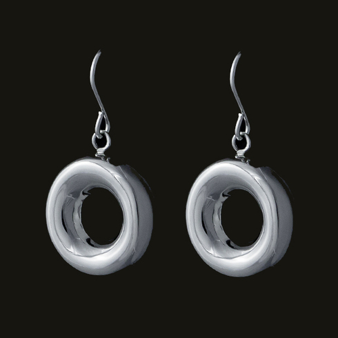 Melissa Drop Circle Earring
