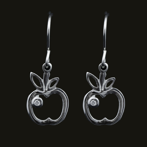 Lucy Apple Earring