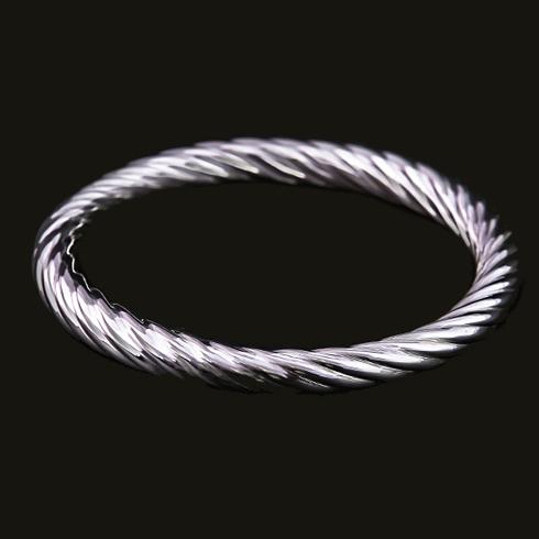 Charlotte Spiral Bangle