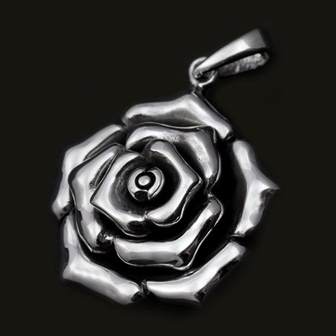 Rosa Floret Pendant