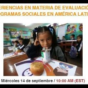 Webinar RIPSO #17: Experiencias en materia de evaluación de programas sociales en América Latina