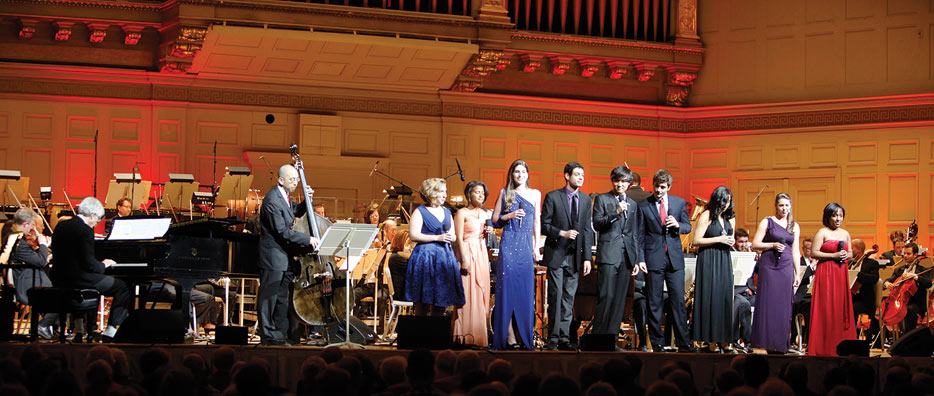 Professor John Harbison and the MIT Vocal Jazz Ensemble