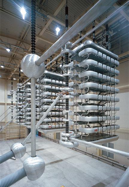 High Voltage Direct Current Supergrids : Abb advance makes renewable energy supergrids practical