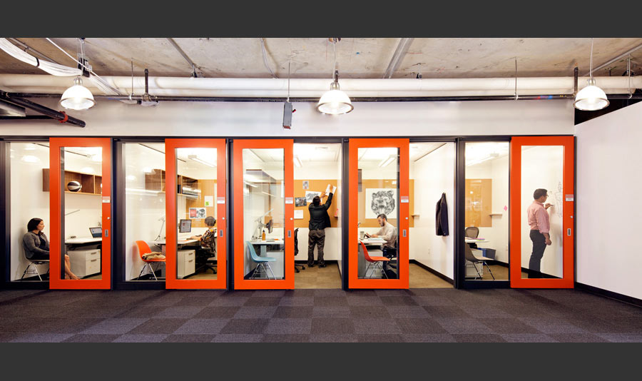 Technology Shift Sparks A Rethinking Of Conventional Office Space.