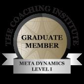 Meta Dynamics Level I Graduate Member at The Coaching Institute