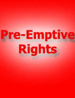 Pre-emptive-rights