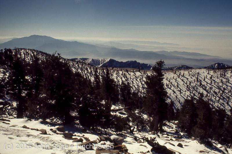 Mount San Gorgonio CA 1972-12