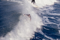Surfing at Huntington Beach Pier CA early 1970s 21