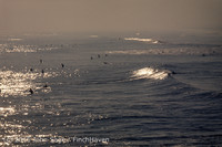 Surfing at Huntington Beach Pier CA early 1970s 65