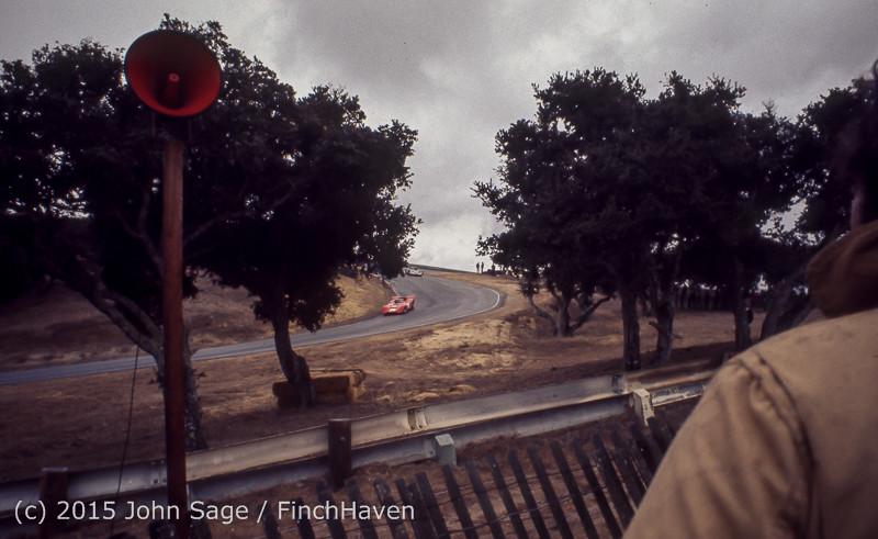 Trans-Am Race Laguna Seca CA Oct 1971-07