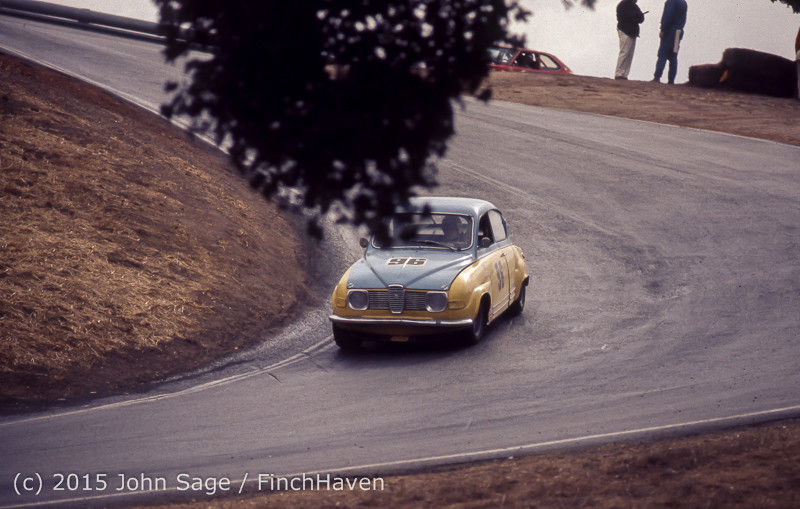 Trans-Am Race Laguna Seca CA Oct 1971-09