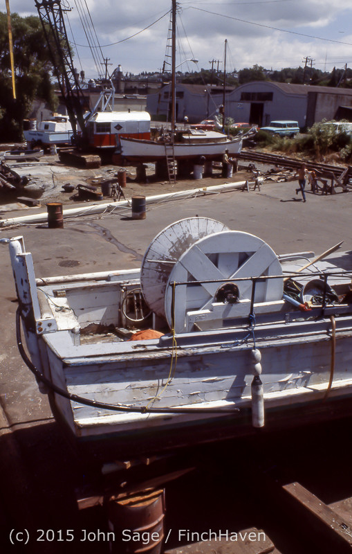 Blanchard Wood Boat Repair Seattle WA June 1977-03