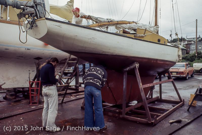 Blanchard Wood Boat Repair Seattle WA June 1977-09