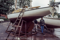 Blanchard Wood Boat Repair Seattle WA June 1977-10