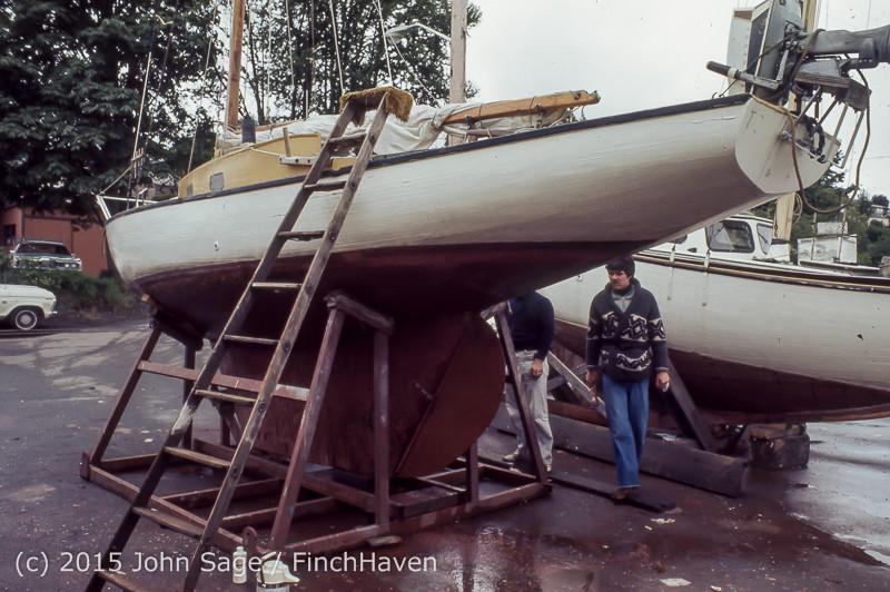 Blanchard Wood Boat Repair Seattle WA June 1977-10