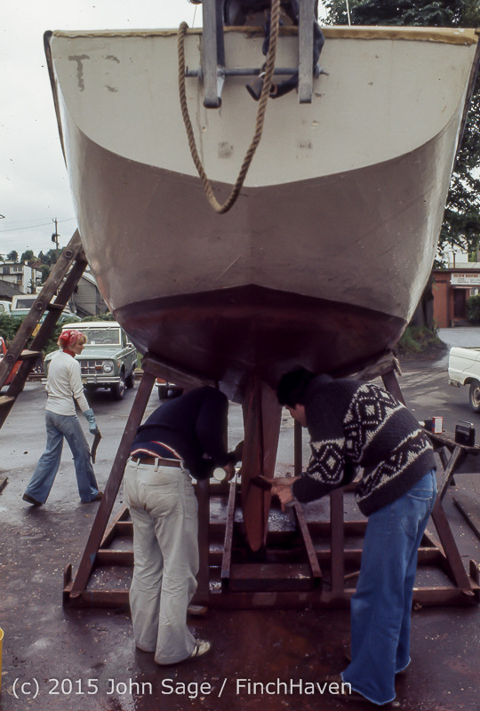 Blanchard Wood Boat Repair Seattle WA June 1977-12