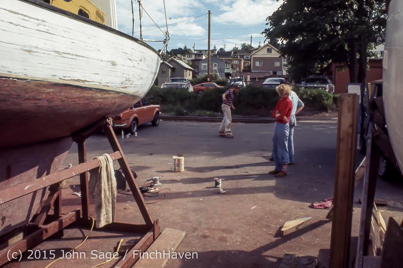 Blanchard Wood Boat Repair Seattle WA June 1977-14