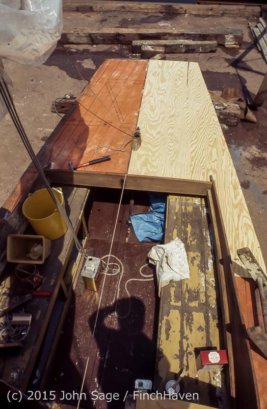 Blanchard Wood Boat Repair Seattle WA June 1977-23