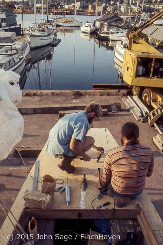 Blanchard Wood Boat Repair Seattle WA June 1977-24