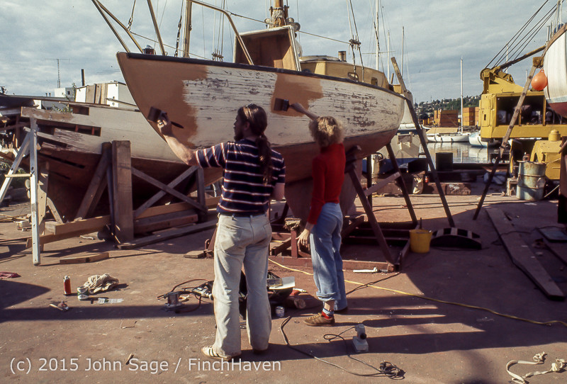 Blanchard Wood Boat Repair Seattle WA June 1977-26