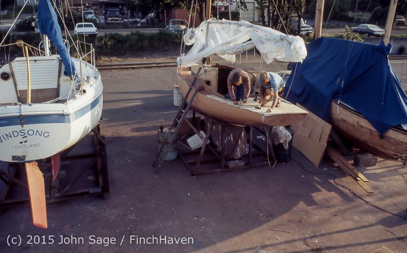 Blanchard Wood Boat Repair Seattle WA June 1977-27
