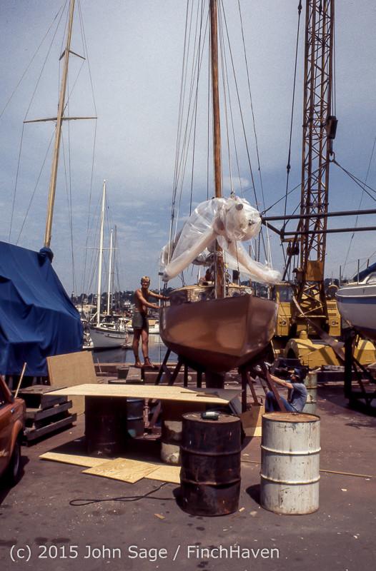 Blanchard Wood Boat Repair Seattle WA June 1977-28