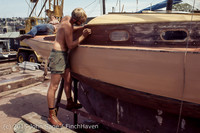 Blanchard Wood Boat Repair Seattle WA June 1977-29