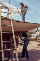 Blanchard Wood Boat Repair Seattle WA June 1977-30