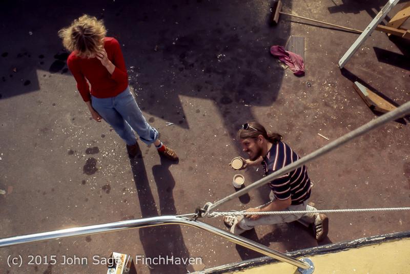 Blanchard Wood Boat Repair Seattle WA June 1977-38