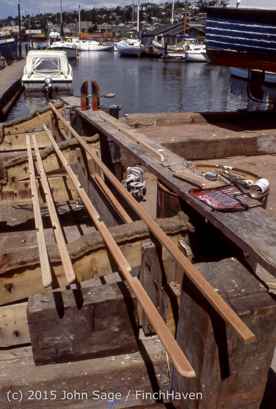 Blanchard Wood Boat Repair Seattle WA June 1977-39