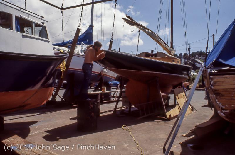 Blanchard Wood Boat Repair Seattle WA June 1977-42