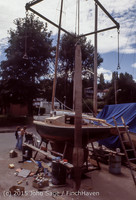 Blanchard Wood Boat Repair Seattle WA June 1977-43