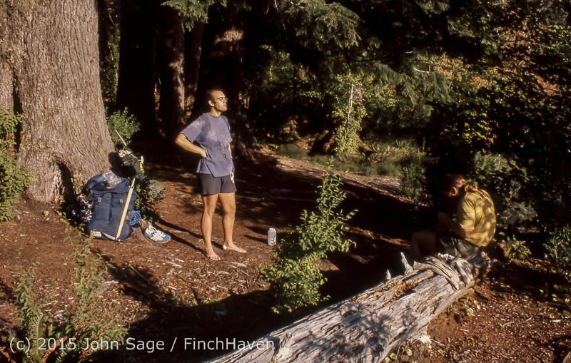 Climbing Mount Olympus WA Sept 1975-05