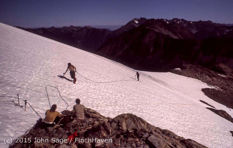 Climbing Mount Olympus WA Sept 1975-17