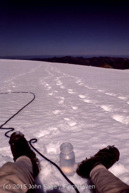 Climbing Mount Olympus WA Sept 1975-18