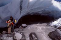 the Mount Rainier Ice Caves fall 1980-09
