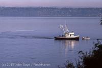 Purse-seining Salmon Glen Acres Vashon WA 1980 009