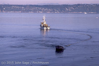 Purse-seining Salmon Glen Acres Vashon WA 1980 013