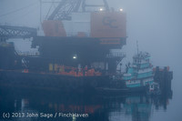 1516 DB General Crane visits Dockton 102413