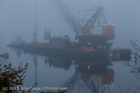 1570 DB General Crane visits Dockton 102413